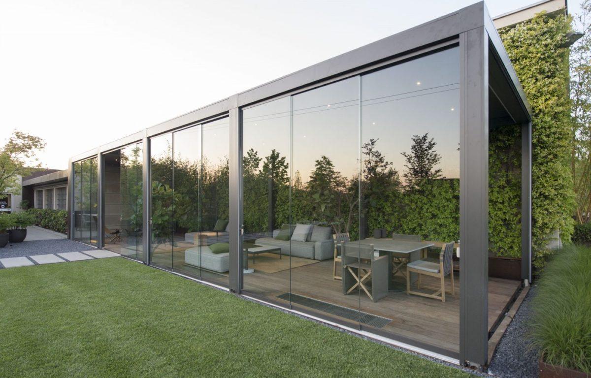 Pergola-bioclimatique-Pratic-slide-glass