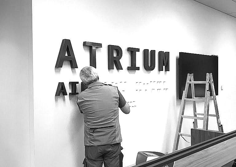 atrium blanc&noir