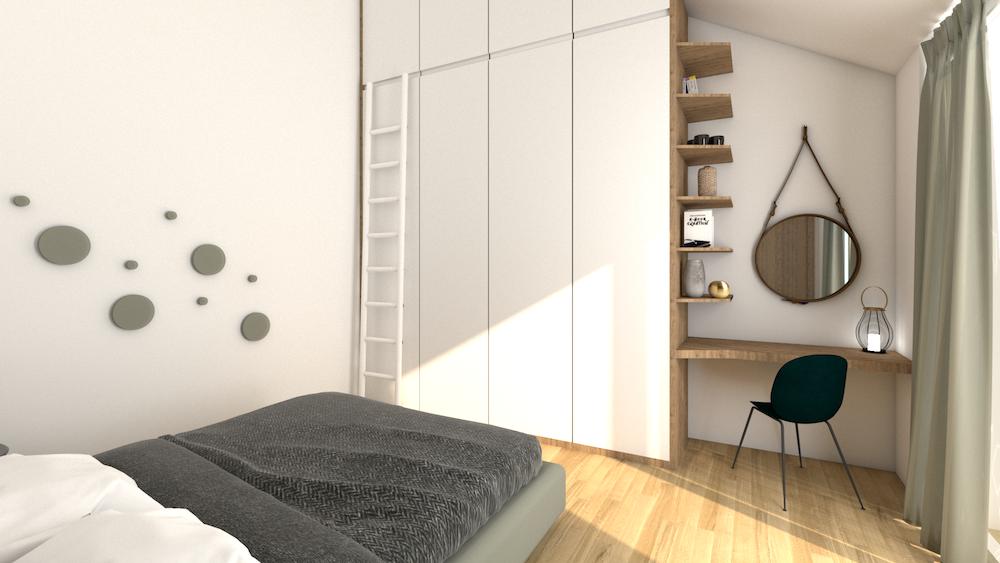 projet armoire sur mesure chambre