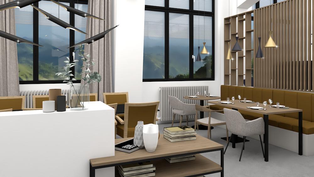 projet showroom